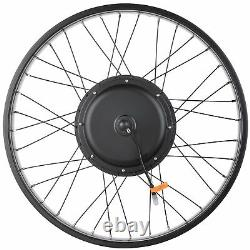 1000W 48V 26 Front Wheel Electric Bicycle E-Bike Conversion Cycling Hub Kit