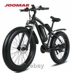 1000W Electric 48V Motor 4.0 Fat Tire Mountain Bike Beach Snow Bicycle Ebike