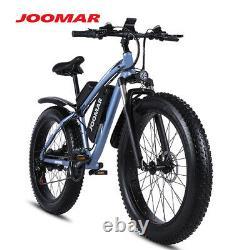 1000W Electric E Bike Fat Tire Snow Mountain Bicycle Li-Battery