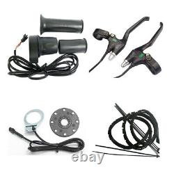 1500W Electric bike pedal assist conversion kit 48V ebike Bluetooth& LCD display