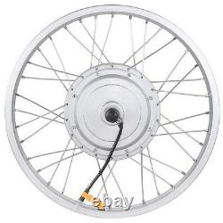 20 36V 750W Electric Bicycle Front Wheel Tire Hub Motor Conversion Kit e-Bike