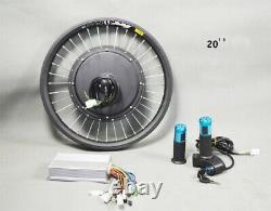 20'' 48V 500W Front Wheel E-bike Conversion Kit Electric Bike Modified Parts