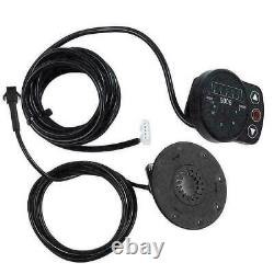 24/36/48V Electric Bicycle Motor Wheel LED Display EBike Conversion Modified Kit