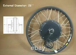 26 48V 500W Mountain Bike Modified Kit for Front Wheel E-bike Conversion Kit