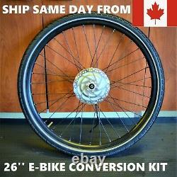 26'' Bafang Front Wheel E-BIKE CONVERSION KIT Electric Bicycle Hub not BBSHD