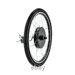 26 Electric Bicycle Front Rear Wheel 48V 1000W Ebike Hub Motor Conversion Kit