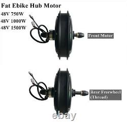 26 Fat Ebike Wheel for 4.0 Fat Tyre Electric Bicycle Front/Rear Wheel Replace