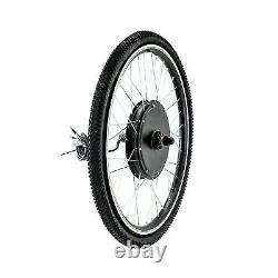 26'' Front/Rear Wheel Electric Bicycle Motor Kit E-Bike Conversion 1000W 48V US