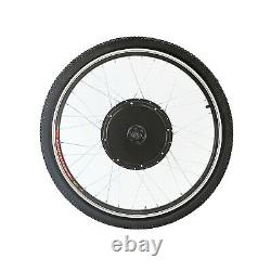 26 Front Wheel Kit Conversion 48v 1000w Motor Hub Electric Bicycle E Bike MTB