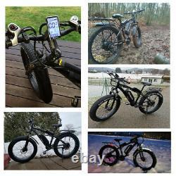 26 Inch Electric Bike 1000W 48V E-Mountain Bike Fat Tire Bicycle Ebike Shimano