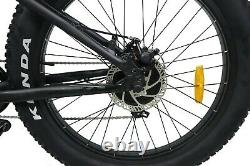 26 TRUE 500W Electric E Bike Fat Tire Snow Mountain Bicycle Li-Battery