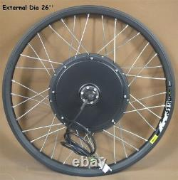 26inch Font Wheel Mountain Bike Modified 48V 500W E-bike Conversion Kit