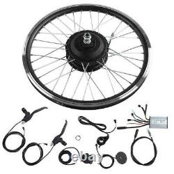 36/48V DIY Electric Bicycle Front/Rear Motor Wheel E-bike Conversion Modified