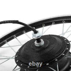 36/48V Electric Bicycle Hub Engine Motor Wheel LED Display E-bike Conversion Kit