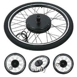 36/48V Electric Bicycle Hub Motor Conversion Set Ebike Front/Rear Wheel 20-700C