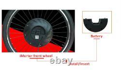 36V 3200mAh Front Wheel Electric Bike Battery For E-Bike 36V 240W Conversion Kit