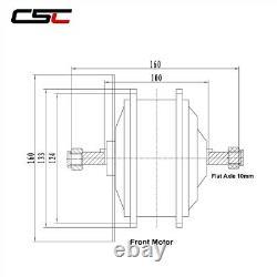 36V Brushless Gear Hub Motor 250W 350W 500W For Electric e Bike Conversion Kit