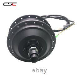 36V E bike Brushless Geared Front Rear Freewheel Cassette hub Motor 250W Wheel