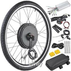 48V 1000W 26 Front Wheel Electric Bicycle Motor Conversion Kit Cycle eBike Hub