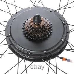 48V 1000W 26 Rear Wheel Electric Bicycle LCD Display Motor Kit EBike Conversion