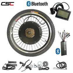 48V 1000W ebike kit electric bicycle conversion Front Rear Hub Motor + Bluetooth