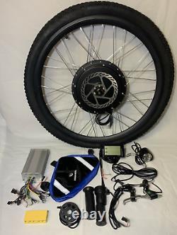 48V 1000w electric bike kit with 250w switch 26inch front wheel ebike
