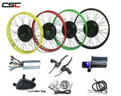 48V 1500W 20inch 4.0 wide Snow beach Fat ebike electric E bicycle conversion kit
