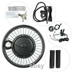 48V 1500W 20x4.0 Inch Electric Bicycle E-bike Conversion Engine Motor Wheel Kit