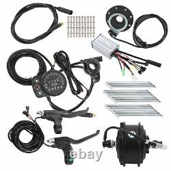 48V 250W Motor 24in 12G With KT900S Meter Ebike Conversion Kit Front Motor