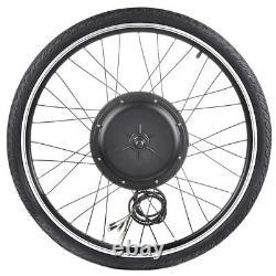 48V 26 Front Wheel Electric Bicycle Kit E-Bike Cycling Hub Conversion