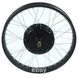 48V/72V Electric Bicycle Conversion Kit Motor Front/Rear Wheel E-bike ModifiedG