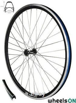 700c QR wheelsON Front Rear Wheel Set E-Bike+8 Speed Shimano Cassette Sapim
