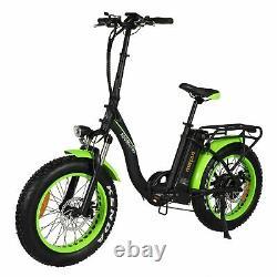 750W 16AH Electric Folding Bike Bicycle 20 Step-Thru Addmotor M140 P7 EBike