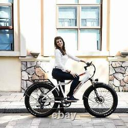 750W 48V/16Ah Battery Electric Bicycle 26 MPH Addmotor M-550 P7 Fat Tire EBike