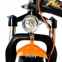 750W Electric Bicycle Folding Bike Addmotor M-150 R7 Suspension Fat Tire E-BIKE
