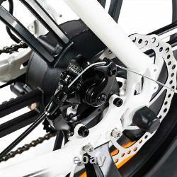 750W Electric Bicycle Moped Bike Addmotor M-60 R7 Cruiser 20 48V Fat Tire EBike
