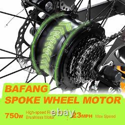 750W Electric Bike Bicycle 26 Fat Tire 48V Addmotor M-560 MTB Commuter E-Bike