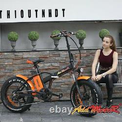 750W Electric Bike Bicycle Addmotor MOTAN 16AH Fat Tire Folding E-Bike M150 P7