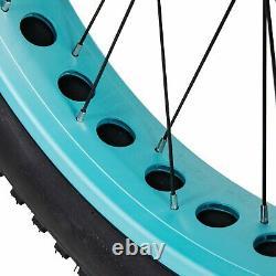 750W Electric Step-thru Bike MaxFoot MF-17 P 26 Fat Tire Beach Cruiser EBike