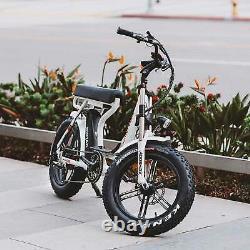 750W Step-Through Electric Bike Addmotor M-66 R7 Beach Cruiser Motorbike EBike