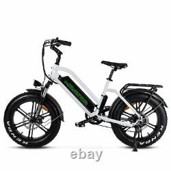 Addmotor 20 Electric Bicycle M-50 750W Fat Tire E-Bike Moped Bike Pedal Assist