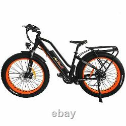 Addmotor M-450 P7 Step-Thru Electric Bike 750W Front Suspension Fat Tire EBike