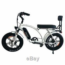 Addmotor MOTAN M-60 R7 Electric Bicycle Bike 750W Cruiser Beach E-BIKE White