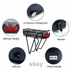 BAFANG 48V 500W Brushless Front Hub Motor E-bike Conversion Kits 17.5Ah Battery