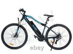 Bezior M1 Mens 36V 250W E-Bike Gents Electric Mountain Bike Bicycle 27.5 Wheels