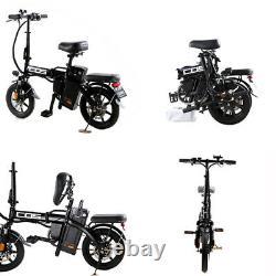 BtrPower 14 350W Motor Folding City Electric Bike 48V 14AH Lithium-Ion Battery