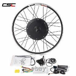 Conversion Kit Ebike 48V 1500W 20-29 inch Electric Bike Motor Wheel