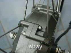Crystalyte G 25 E-Bike Vorderrad 28 Frontmotor 36V 250 W-500 W neuwertig 25-622