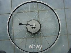 Crystalyte G 25 E-Bike Vorderrad 28 Frontmotor 36V 250W- 500W neuwertig 25-622