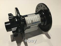 Dt Swiss 240 Hybrid 32 Hole Front 100mm Disk Hub For Heavy Duty Mtb And E- Bike
